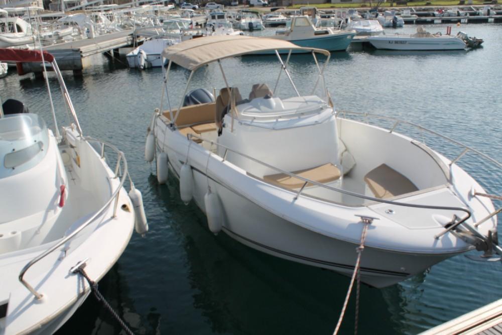 Verhuur Motorboot in Propriano - Jeanneau Cap Camarat 7.5 Style