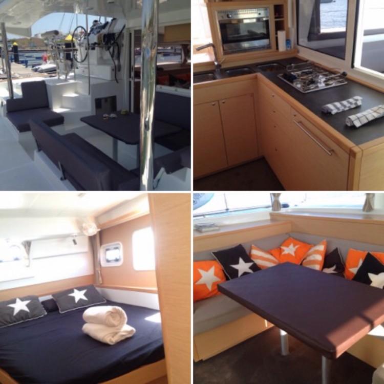 Jachthuur in Barcelona - Lagoon Lagoon 400 S2 via SamBoat