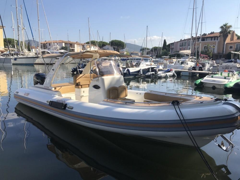 Verhuur Rubberboot in Grimaud - Wimbi Boats W9