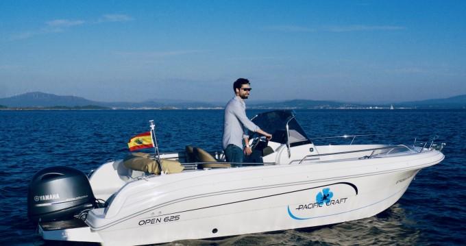 Verhuur Motorboot in Palma de Mallorca - Pacific Craft Pacific Craft 625 Open