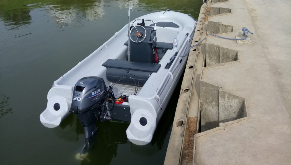 Verhuur Motorboot in Mâcon - Fun Yak Sécu 13