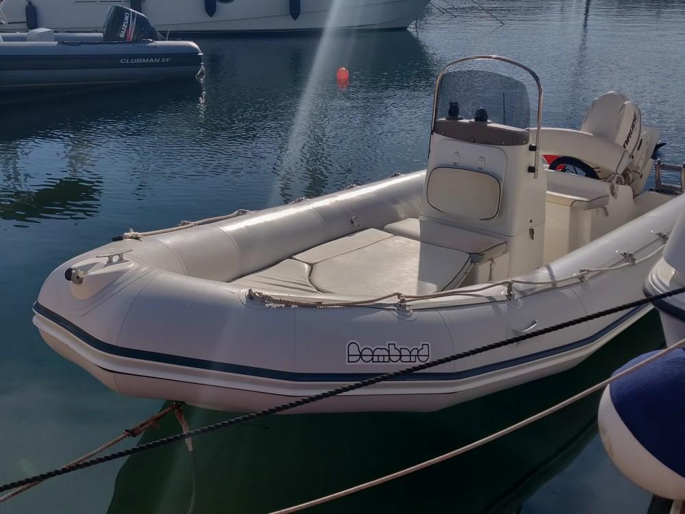 Verhuur Rubberboot in Porto-Vecchio - Bombard Explorer 530 SB II