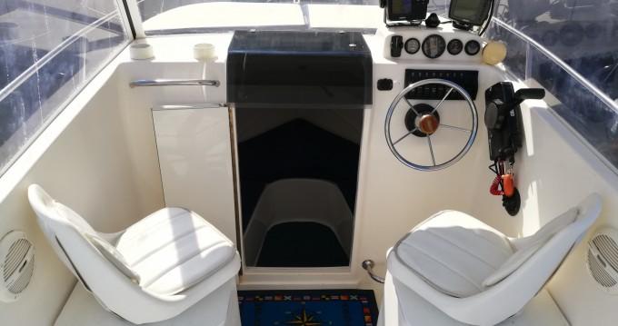 Bootverhuur SAVER 620 WA Cabin Fisher 540 in Trogir via SamBoat