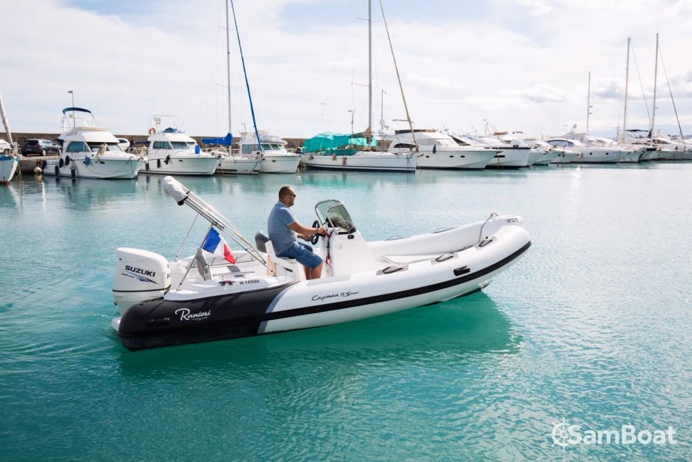 Verhuur Rubberboot in Saint-Laurent-du-Var - Ranieri Cayman 19 Sport