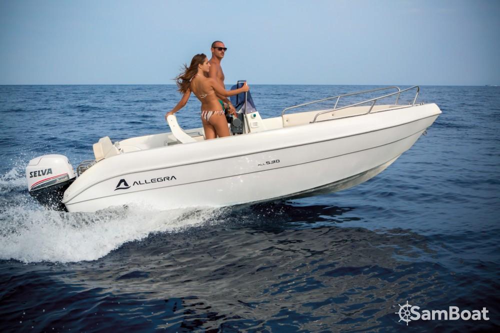 Huur een Allegra Boats All 530 Open in Santa Margherita Ligure