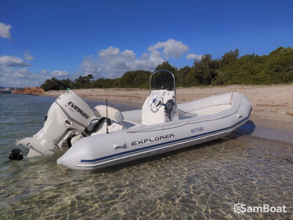 Bootverhuur Porto-Vecchio goedkoop Explorer 530 SB II