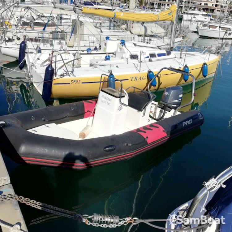 Verhuur Rubberboot in Cogolin - Zodiac Pro 12 Man