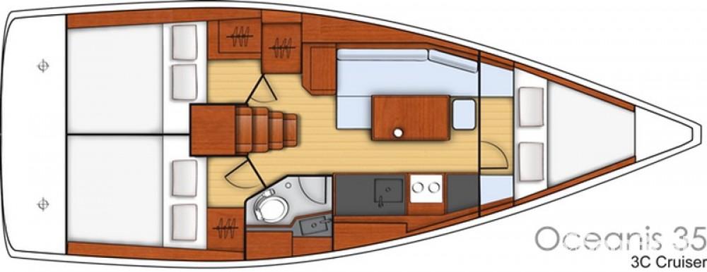 Verhuur Zeilboot in Split - Bénéteau Oceanis 35 Cruiser