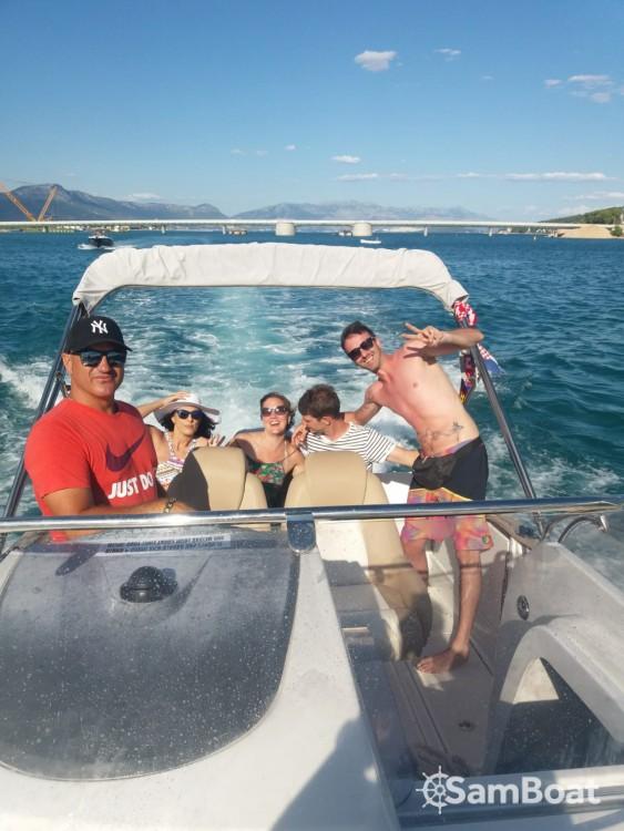 Bootverhuur Jeanneau Cap Camarat 755 WA in Trogir via SamBoat