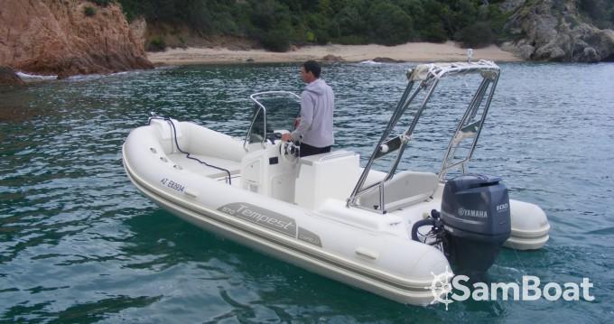 Verhuur Rubberboot in Propriano - Capelli Capelli 570 Luxe