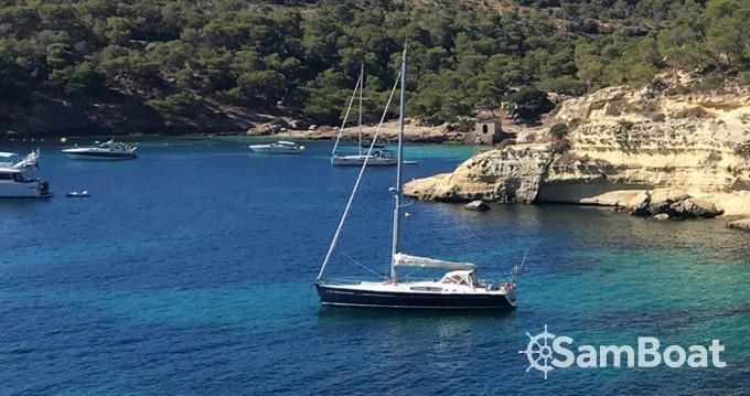 Bootverhuur Palma de Mallorca goedkoop Oceanis 50