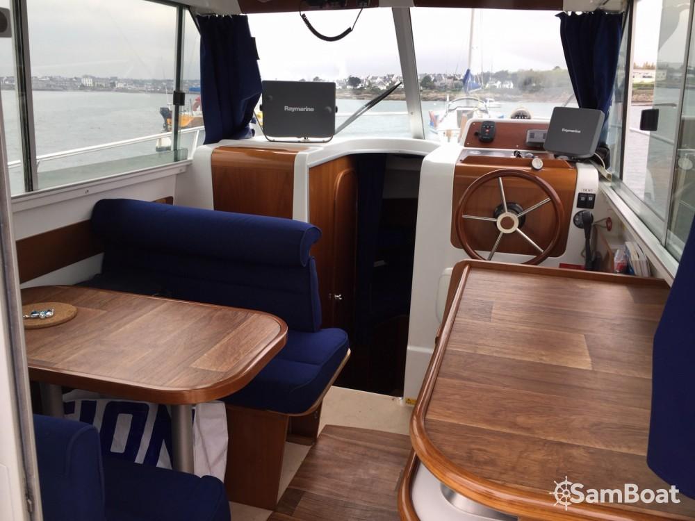 Verhuur Motorboot in Concarneau - Bénéteau Antares 760