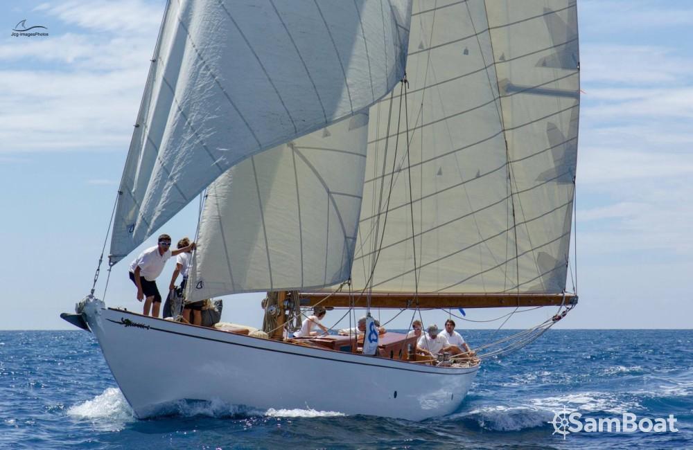 Verhuur Zeilboot Wiliam-Fife met vaarbewijs