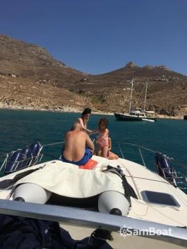 Bootverhuur Serifos goedkoop Mediterranee 40