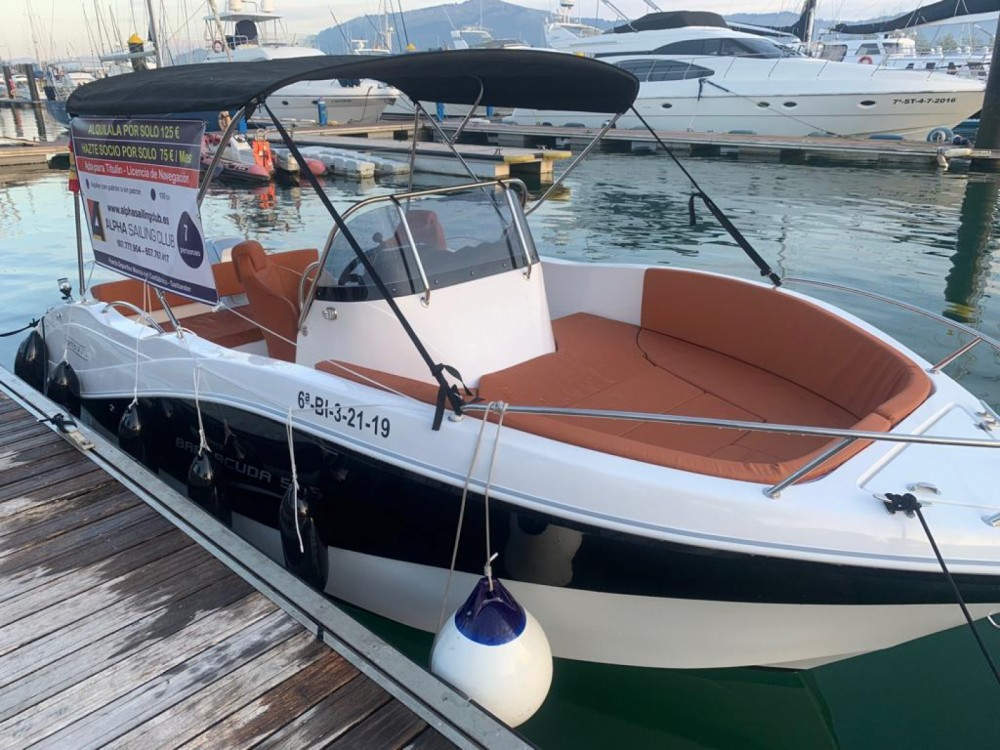 Bootverhuur Okiboats Barracuda 545 Open in Santander via SamBoat
