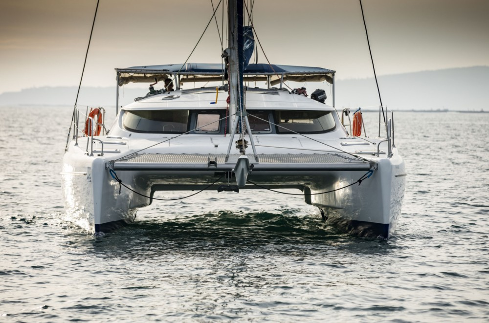 Verhuur Catamaran in Vigo - Fountaine Pajot Athena 38