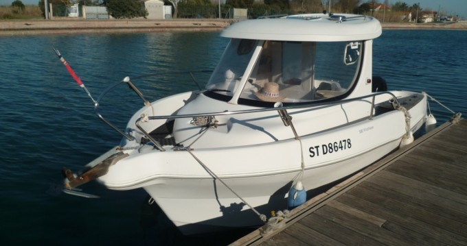 Verhuur Motorboot in Marseillan - Quicksilver Quicksilver 580 Pilothouse
