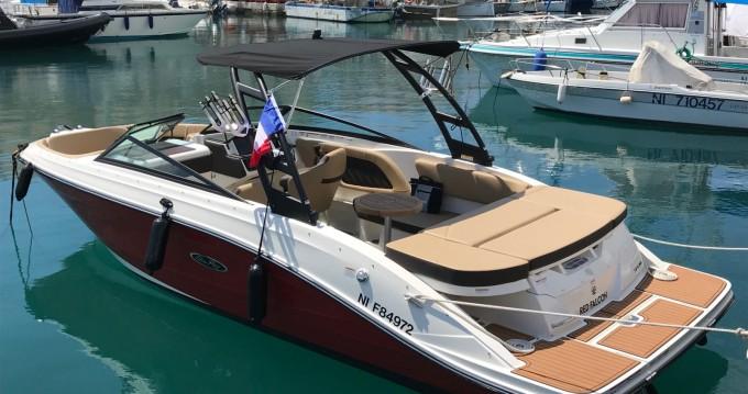 Huur Motorboot met of zonder schipper Sea Ray in Antibes
