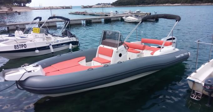 Huur Rubberboot met of zonder schipper Marlin Boat in Vrsar-Orsera