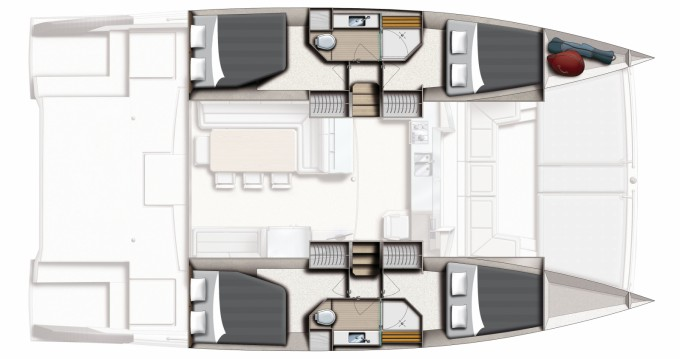 Catamaran te huur in Ibiza Island voor de beste prijs