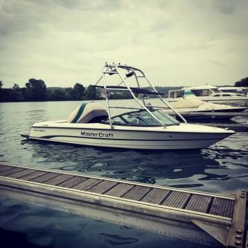 Verhuur Motorboot in Lac de Serre-Ponçon - Mastercraft Pro Star 190