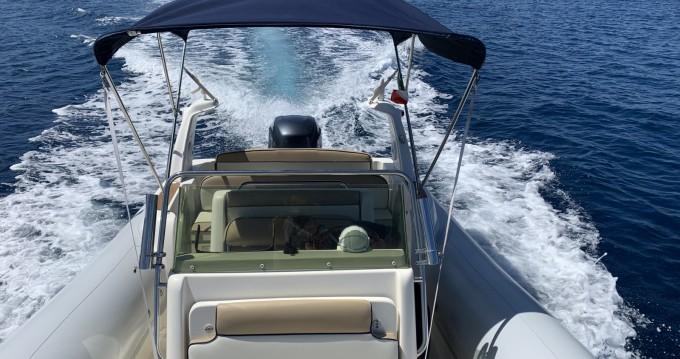 Huur Rubberboot met of zonder schipper Marlin Boat in Panarea