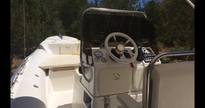 Rubberboot te huur in Ibiza Island voor de beste prijs