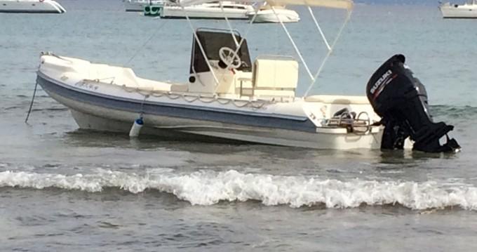 Huur Rubberboot met of zonder schipper Gommonautica in Ibiza Island