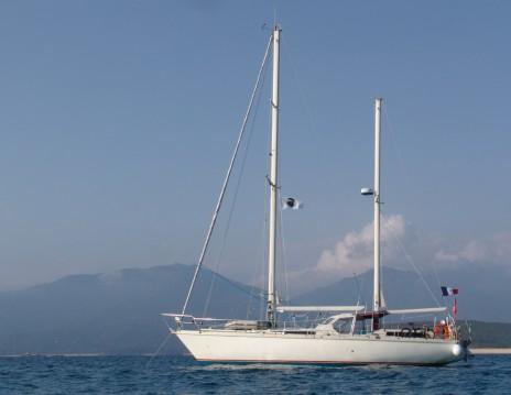 Huur Zeilboot met of zonder schipper Amel in Propriano