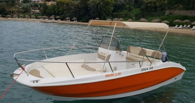 Verhuur Motorboot Idea met vaarbewijs