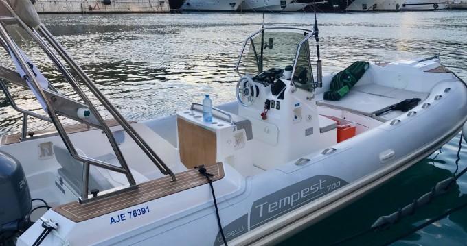 Huur Rubberboot met of zonder schipper Capelli in Nice