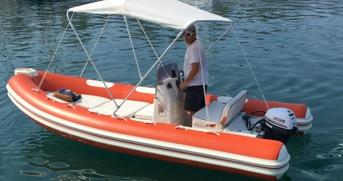 Verhuur Rubberboot in Saint-Raphaël - Lomac Lomac 520 OK
