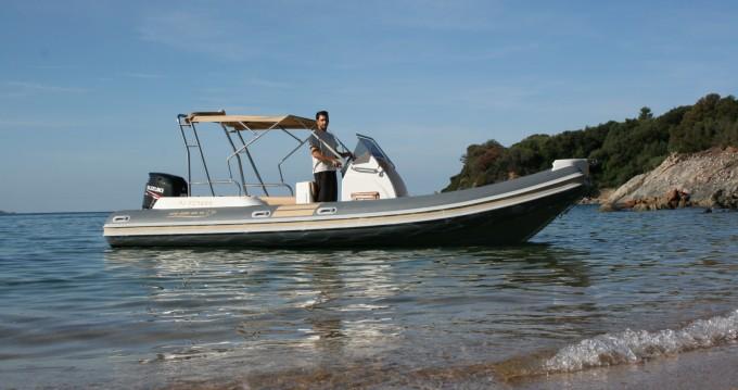 Huur Rubberboot met of zonder schipper Nautica Led in Propriano