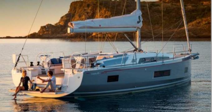 Verhuur Zeilboot in Bandol - Bénéteau Oceanis 46.1