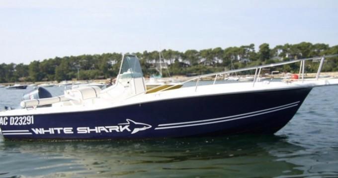 White Shark White Shark 215 te huur van particulier of professional in Lège-Cap-Ferret