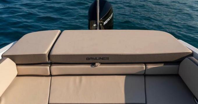 Verhuur Motorboot in Badia de Santa Ponça - Bayliner VR6 caddy