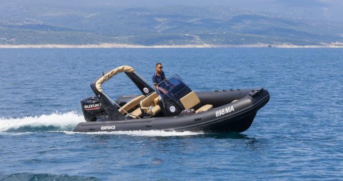 Jachthuur in Brela - Brig Eagle 650 via SamBoat