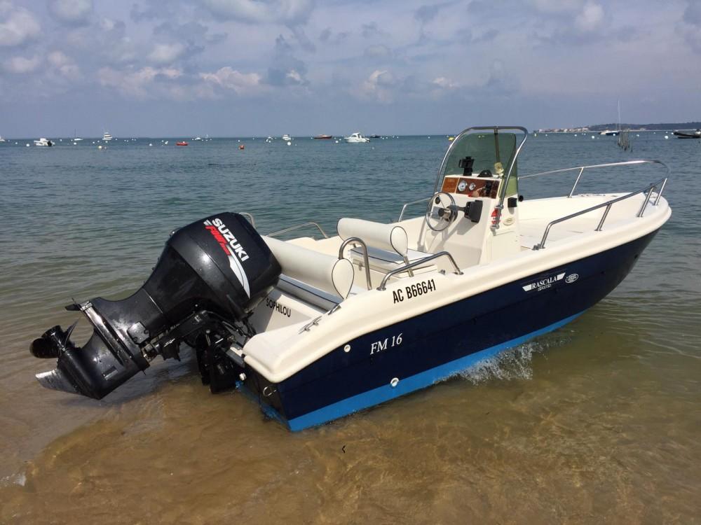 Verhuur Motorboot RASCALA FM16 met vaarbewijs