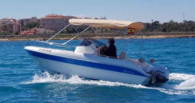Sessa Marine Remus 550 te huur van particulier of professional in Cabo Roig