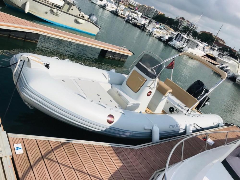 Verhuur Rubberboot in Arcachon - Zodiac Medline 660