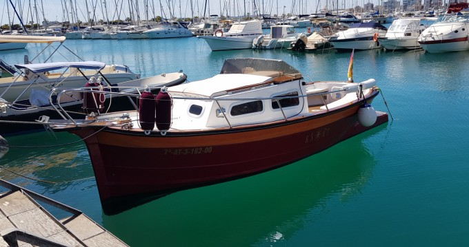 Verhuur Motorboot in Torrevieja - Knort Cabinada 32 Clásica