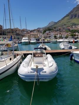 Huur Rubberboot met of zonder schipper Tecno  in Castellammare del Golfo