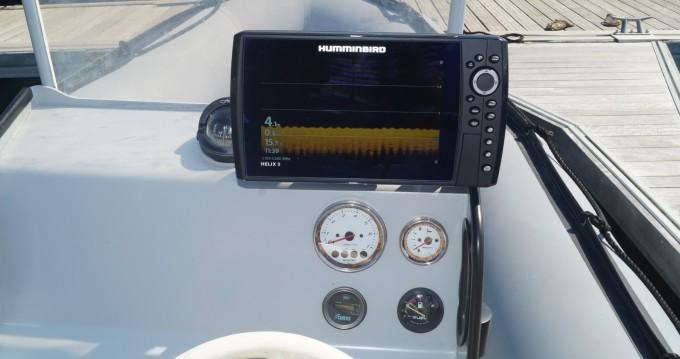 Verhuur Rubberboot in Arradon - Zodiac Zodiac 600 SRMN