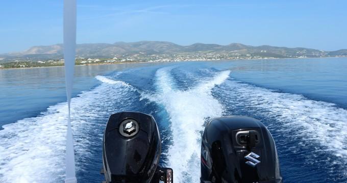 Verhuur Motorboot in Paros - The Sailor's Ride 450