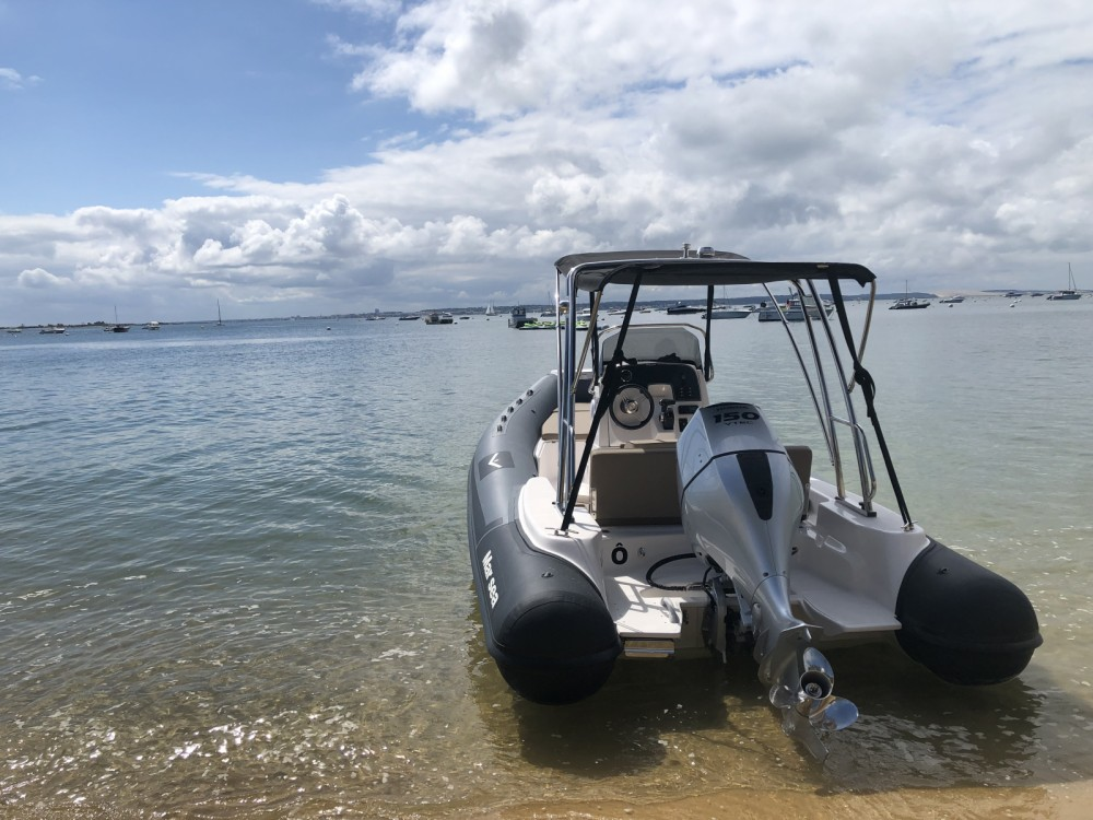 Verhuur Rubberboot in Lège-Cap-Ferret - Marsea Marsea CM 120