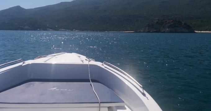 Huur Motorboot met of zonder schipper Nireus in Setúbal