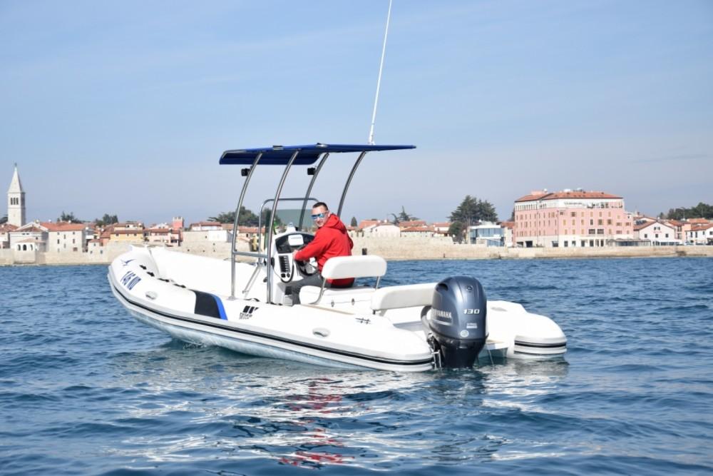 Bootverhuur Novigrad goedkoop Dive Master 600