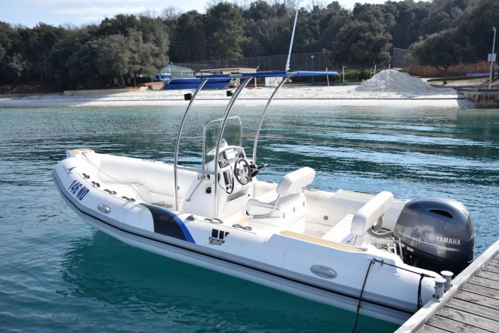 Verhuur Rubberboot in Novigrad - Tiger-Marine Dive Master 600