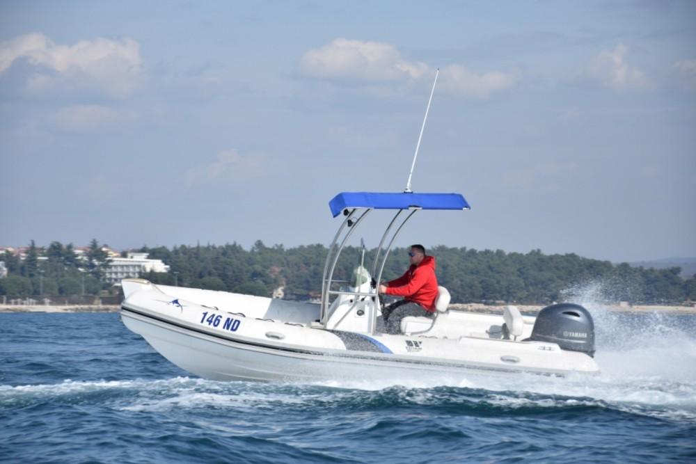 Verhuur Rubberboot Tiger-Marine met vaarbewijs