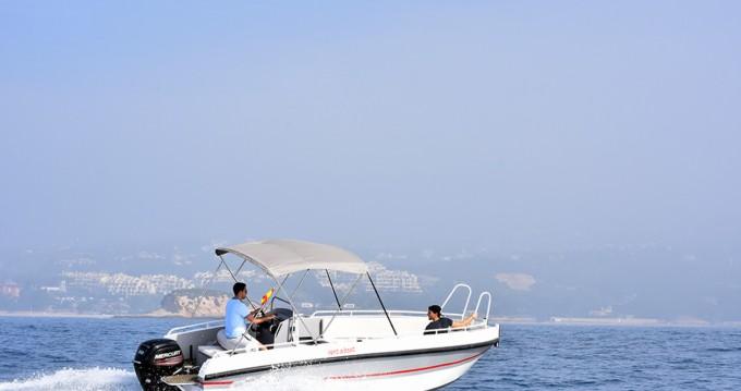 Verhuur Motorboot Gasparet met vaarbewijs